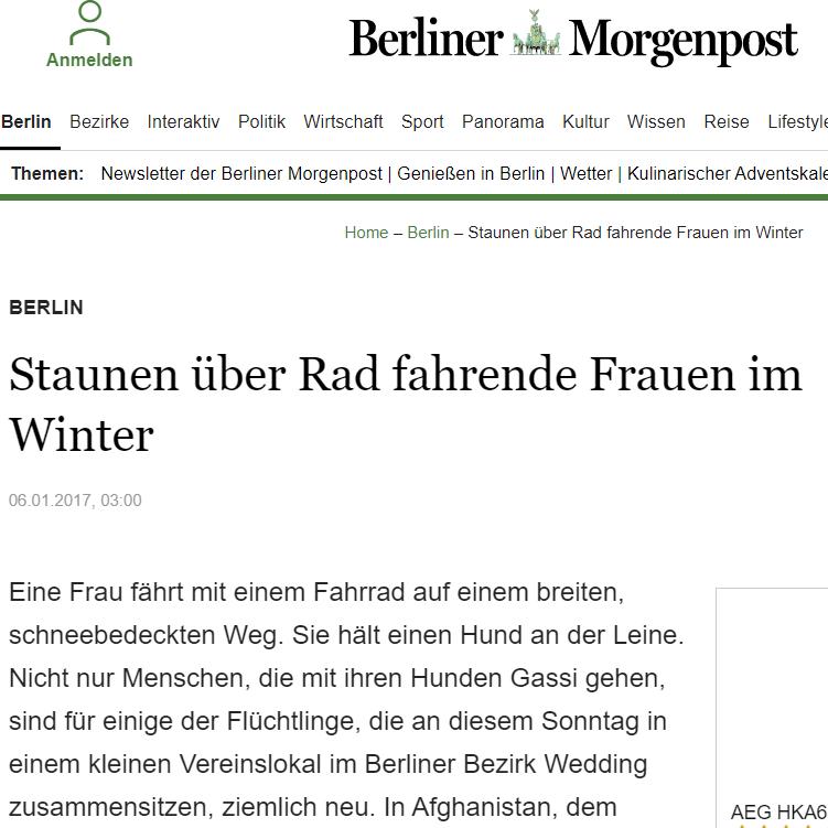 Die Berliner Morgenpost berichtet über unsere Arbeit mit  Flüchtlingen an der  Aziz-Nesin-Europaschule: